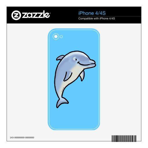 Delfín lindo skins para iPhone 4S