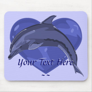Delfín Mousepad Alfombrilla De Raton