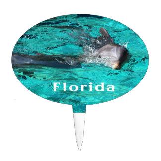 delfín que sale del agua clara florida jpg del tru figura para tarta