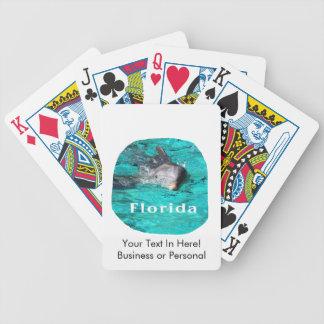 delfín que sale del agua clara la Florida del trul Cartas De Juego