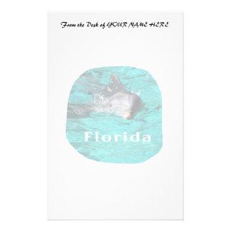 delfín que sale del agua clara la Florida del trul Papelería De Diseño
