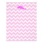 Delfín rosado membrete a diseño
