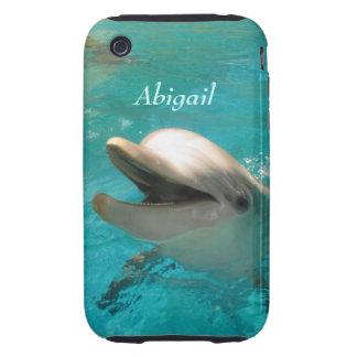 Delfín sonriente carcasa though para iPhone 3