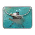 Delfín sonriente fundas macbook pro