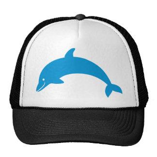 Delfín sonriente gorros bordados