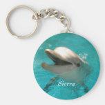 Delfín sonriente llaveros personalizados