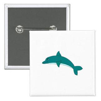 Delfín sonriente pins