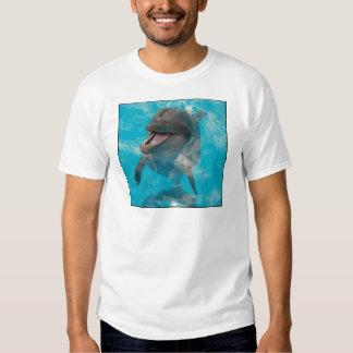 Delfín sonriente playeras