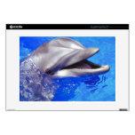Delfín sonriente portátil calcomanías
