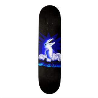 Delfín sonriente skateboard
