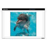 Delfín sonriente skins para 43,2cm portátiles