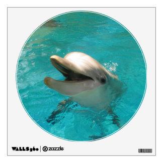 Delfín sonriente vinilo decorativo