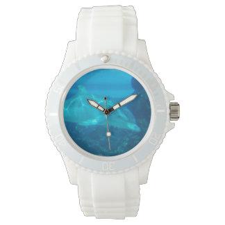 Delfín subacuático relojes de mano