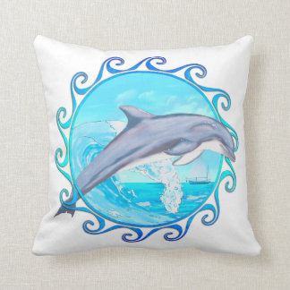 Delfín Sun maorí Almohadas