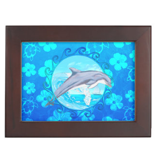 Delfín Sun maorí Caja De Recuerdos