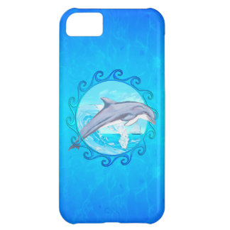 Delfín Sun maorí Carcasa Para iPhone 5C