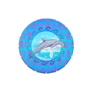 Delfín Sun maorí Jarrones De Caramelos