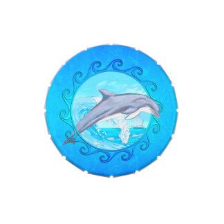 Delfín Sun maorí Frascos De Caramelos