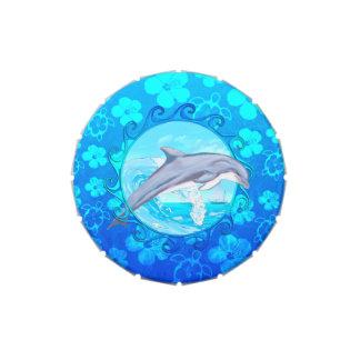 Delfín Sun maorí Latas De Dulces