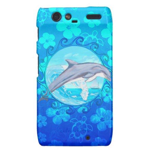 Delfín Sun maorí Motorola Droid RAZR Funda