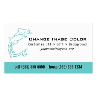 Delfín - tarjeta de visita personal