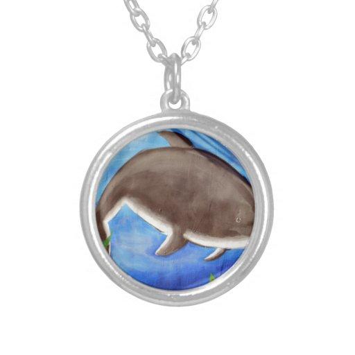 Delfín y pescados joyeria