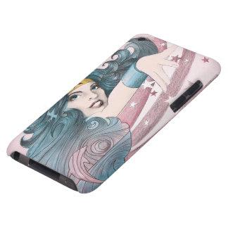Delfín y rayas de la Mujer Maravilla Barely There iPod Fundas