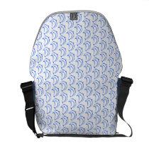 Delfinder design courier pocket messenger bag