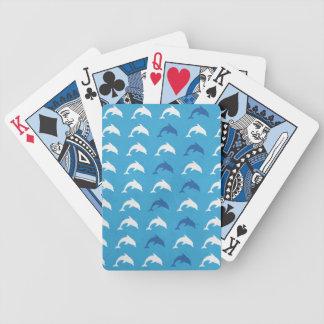 Delfínes azules baraja cartas de poker