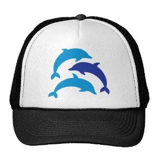 Delfínes azules gorra