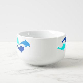 Delfínes Cuenco Para Sopa