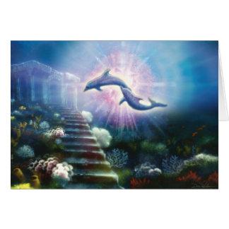 Delfínes de Nori Tarjeta