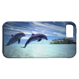 Delfínes de salto iPhone 5 coberturas