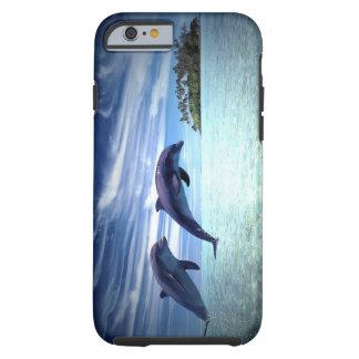 Delfínes de salto funda resistente iPhone 6
