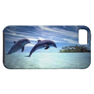Delfínes de salto iPhone 5 carcasas