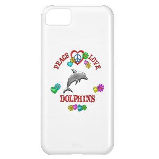 Delfínes del amor de la paz