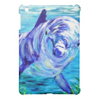 Delfínes del océano que pintan la imagen subacuáti