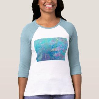Delfínes digitales contemporáneos del arte del © P Camisetas
