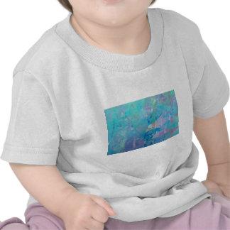 Delfínes digitales contemporáneos del arte del © P Camiseta