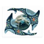 Delfínes en Dione Postal