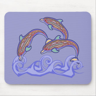 Delfínes en el juego Mousepad