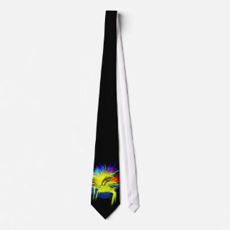 Delfínes en la sol con la mano corbata personalizada