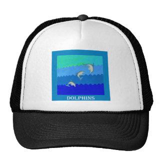 Delfínes (Floridia y Mississippi) .jpg Gorros Bordados