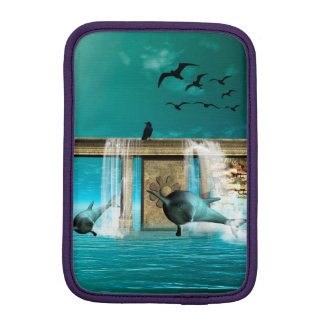 Delfínes hermosos, lindos fundas iPad mini