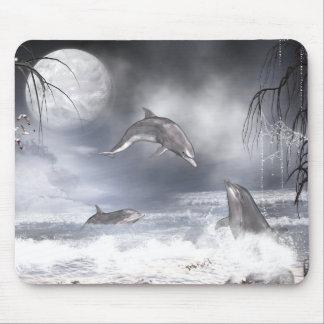 Delfínes juguetones tapetes de raton