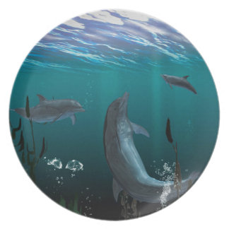 delfínes platos de comidas