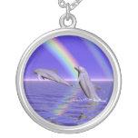 Delfínes y arco iris joyerías