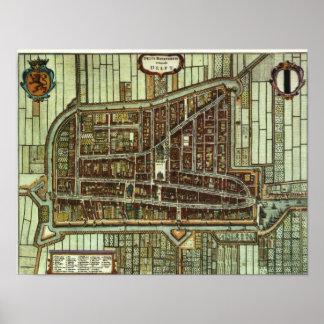 Delft - 1652 poster