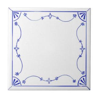 Delft Blau Design Ceramic Tile