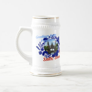 Delft Blue Fryslân Snits/ Sneek Beer Stein 18 Oz Beer Stein